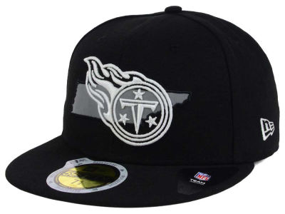 Tennessee Titans NFL State Flective Redux 59FIFTY Cap Hats