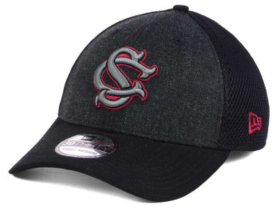 South Carolina Gamecocks NCAA Heather Black Neo 39THIRTY Cap Hats