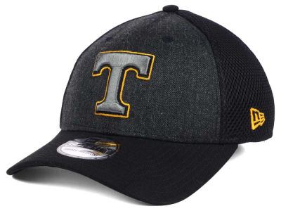 Tennessee Volunteers NCAA Heather Black Neo 39THIRTY Cap Hats