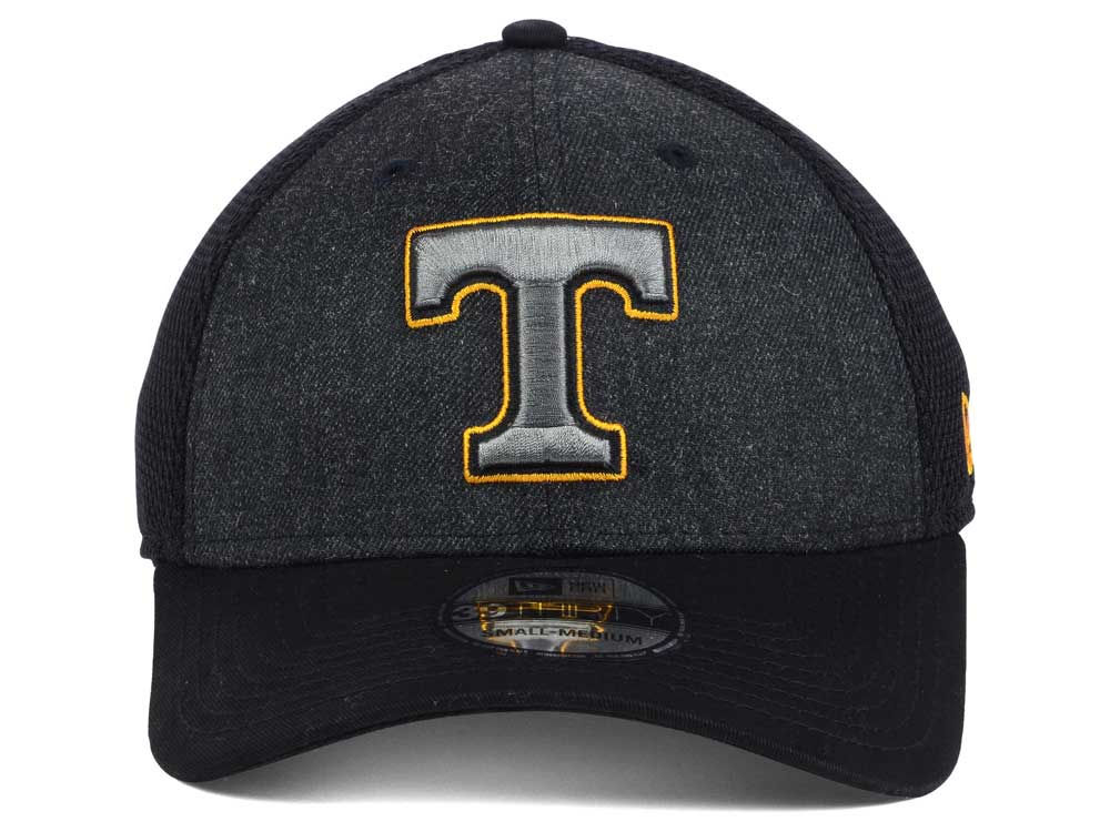 new arrival bbf31 33f42 ... norway hot sale tennessee volunteers new era ncaa heather black neo  39thirty cap 4325f 2be0c