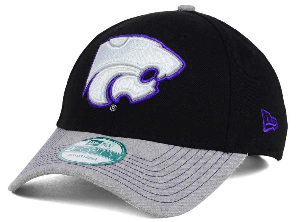 new arrival 878ca 84b22 outlet Kansas State Wildcats New Era NCAA Heathered 9FORTY Cap