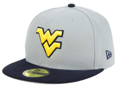 West Virginia Mountaineers NCAA Grayson 59FIFTY Cap Hats