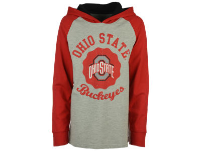 NCAA Toddler Hooded Raglan Long Sleeve T-Shirt