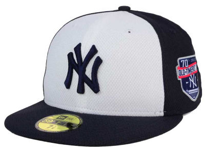 New York Yankees 2016 MLB 70th Old Timers' Day Patch 59FIFTY Cap Hats