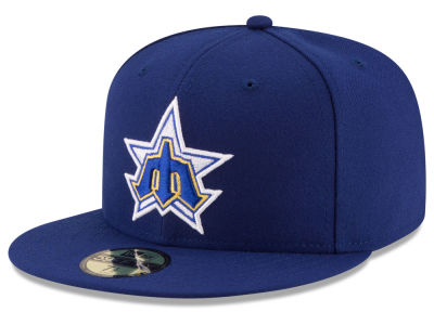 Seattle Mariners MLB 2016 Turn Back the Clock 59FIFTY Cap Hats