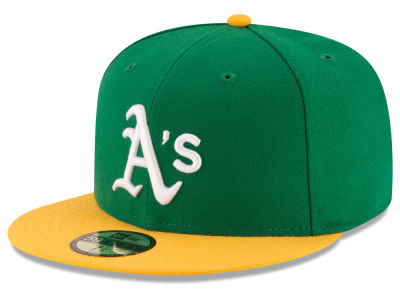 Oakland Athletics MLB 2016 Turn Back the Clock 59FIFTY Cap Hats