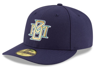Milwaukee Brewers MLB 2016 Turn Back The Clock Low Profile 59FIFTY Cap Hats