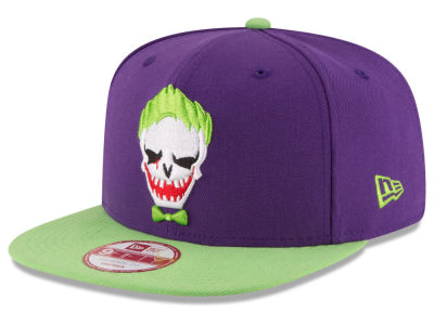 Suicide Squad Character Face 9FIFTY Snapback Cap - Joker  Hats