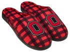 Ohio State Buckeyes Forever Collectibles Flannel Cup Sole Slippers Boxed Apparel & Accessories