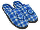 Indianapolis Colts Forever Collectibles Flannel Cup Sole Slippers Boxed Apparel & Accessories