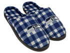 Seattle Seahawks Forever Collectibles Flannel Cup Sole Slippers Boxed Apparel & Accessories