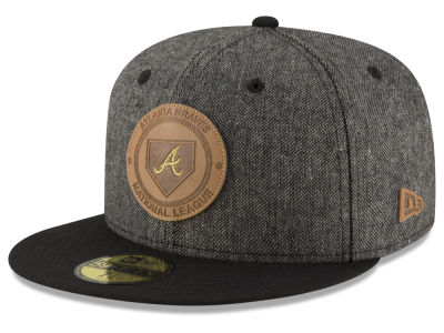 Atlanta Braves MLB Vintage Tweed 59FIFTY Cap Hats