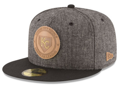 Kansas City Royals MLB Vintage Tweed 59FIFTY Cap Hats