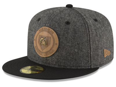 Miami Marlins MLB Vintage Tweed 59FIFTY Cap Hats