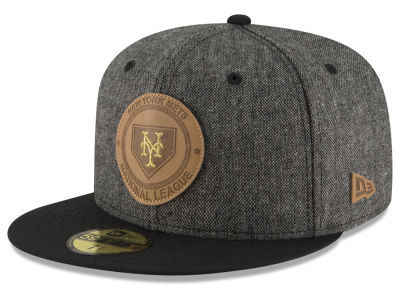 New York Mets MLB Vintage Tweed 59FIFTY Cap Hats