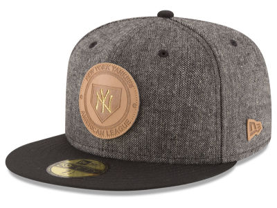 New York Yankees MLB Vintage Tweed 59FIFTY Cap Hats