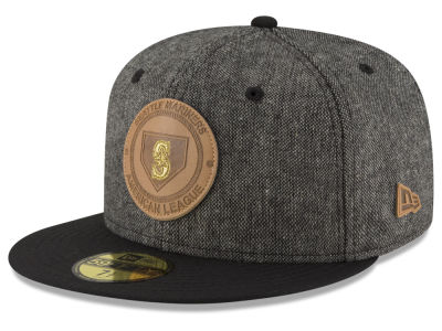 Seattle Mariners MLB Vintage Tweed 59FIFTY Cap Hats