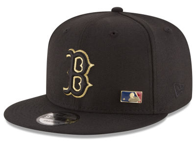 Boston Red Sox MLB Metal Man 9FIFTY Snapback Cap Hats