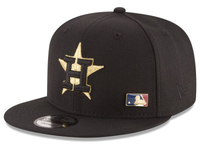 Houston Astros MLB Metal Man 9FIFTY Snapback Cap Hats