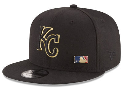 Kansas City Royals MLB Metal Man 9FIFTY Snapback Cap Hats