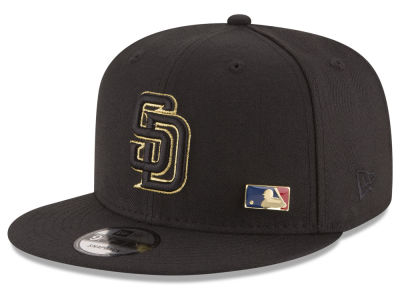 San Diego Padres MLB Metal Man 9FIFTY Snapback Cap Hats