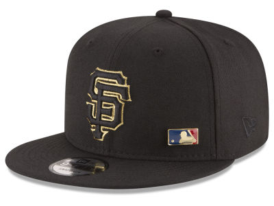 San Francisco Giants MLB Metal Man 9FIFTY Snapback Cap Hats