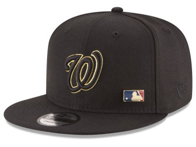 Washington Nationals MLB Metal Man 9FIFTY Snapback Cap Hats