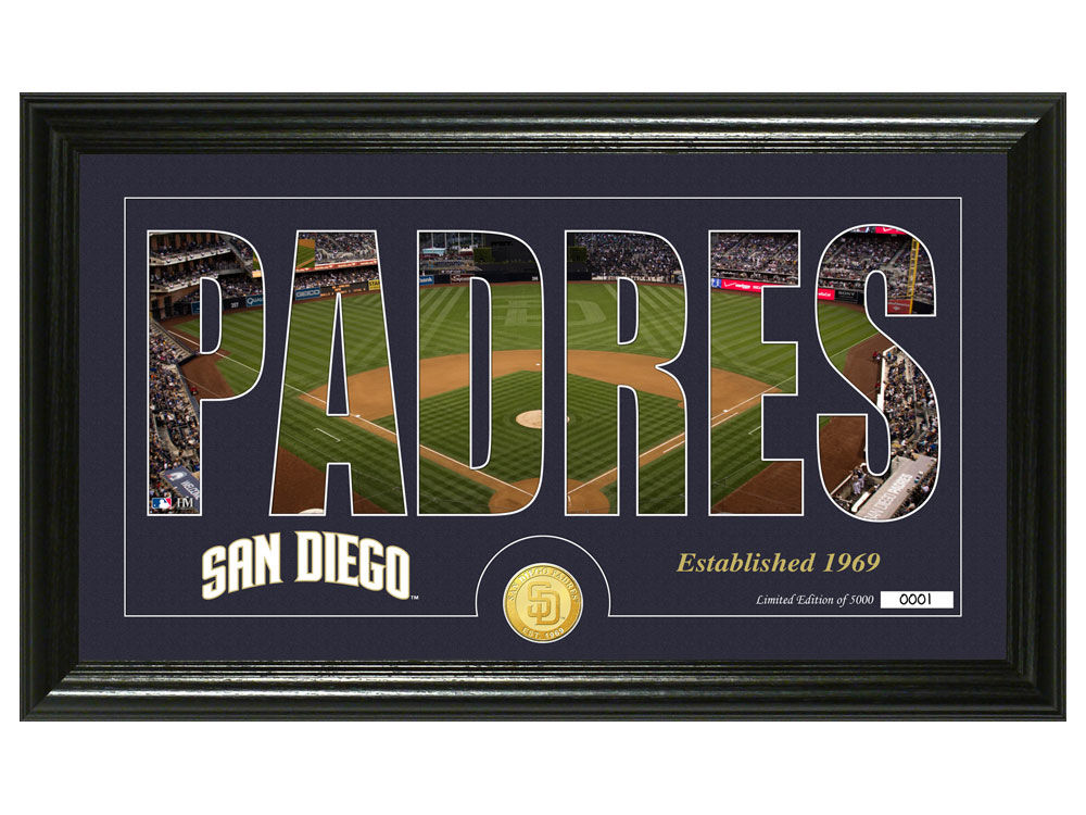 b16f998df09 San Diego Padres Silhouette Word Art Photo Mint outlet ...