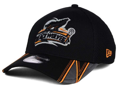 New England Black Wolves NLL 2016 Onfield 39THIRTY Cap Hats