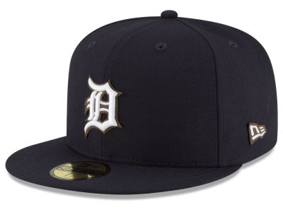 Detroit Tigers MLB Classic Leather Outline 59FIFTY Cap Hats