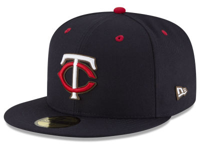 Minnesota Twins MLB Classic Leather Outline 59FIFTY Cap Hats