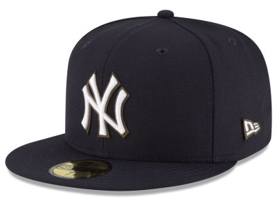 New York Yankees MLB Classic Leather Outline 59FIFTY Cap Hats