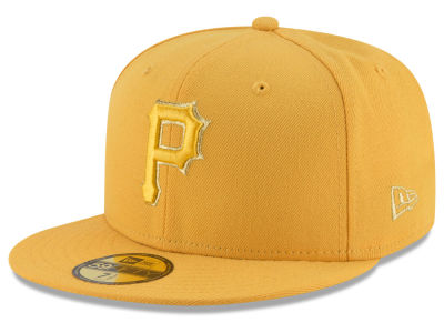 Pittsburgh Pirates MLB Team On Metallic 59FIFTY Cap Hats