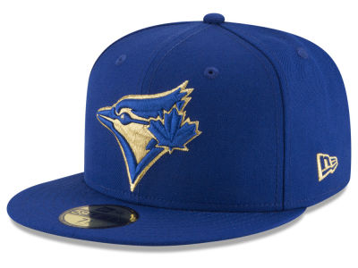 Toronto Blue Jays MLB Team On Metallic 59FIFTY Cap Hats