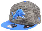 Detroit Lions New Era NFL Blurred Trick 9FIFTY Snapback Cap Adjustable Hats