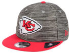 Kansas City Chiefs New Era NFL Blurred Trick 9FIFTY Snapback Cap Adjustable Hats