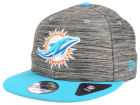 Miami Dolphins New Era NFL Blurred Trick 9FIFTY Snapback Cap Adjustable Hats