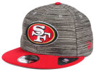 San Francisco 49ers New Era NFL Blurred Trick 9FIFTY Snapback Cap Adjustable Hats