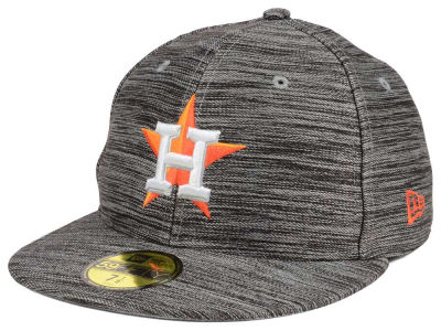 Houston Astros MLB Blurred Trick 59FIFTY Cap Hats
