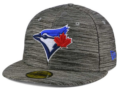 Toronto Blue Jays MLB Blurred Trick 59FIFTY Cap Hats