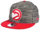 Atlanta Hawks New Era NBA HWC Blurred Trick 9FIFTY Snapback Cap Adjustable Hats