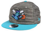 Charlotte Hornets New Era NBA HWC Blurred Trick 9FIFTY Snapback Cap Adjustable Hats
