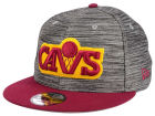 Cleveland Cavaliers New Era NBA HWC Blurred Trick 9FIFTY Snapback Cap Adjustable Hats
