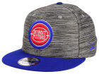 Detroit Pistons New Era NBA HWC Blurred Trick 9FIFTY Snapback Cap Adjustable Hats