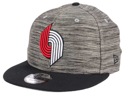 Portland Trail Blazers NBA HWC Blurred Trick 9FIFTY Snapback Cap Hats