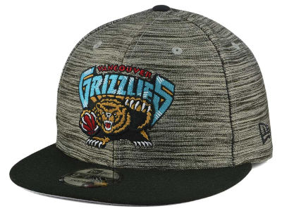 Vancouver Grizzlies NBA HWC Blurred Trick 9FIFTY Snapback Cap Hats