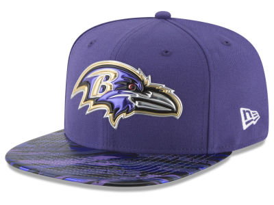 Baltimore Ravens 2016 NFL On Field Color Rush 9FIFTY Snapback Cap Hats