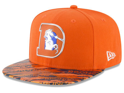 Denver Broncos 2016 NFL On Field Color Rush 9FIFTY Snapback Cap Hats