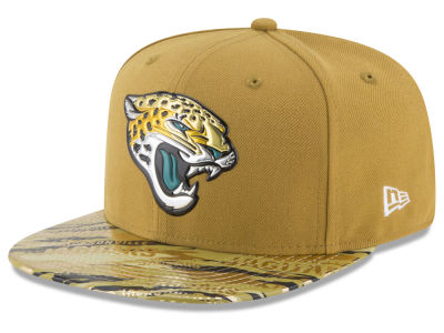 Jacksonville Jaguars 2016 NFL On Field Color Rush 9FIFTY Snapback Cap Hats