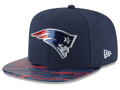 New England Patriots 2016 NFL On Field Color Rush 9FIFTY Snapback Cap Hats